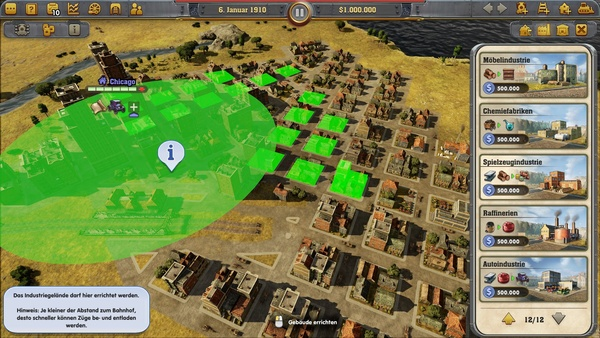 Screenshot zu Railway Empire - Screenshots