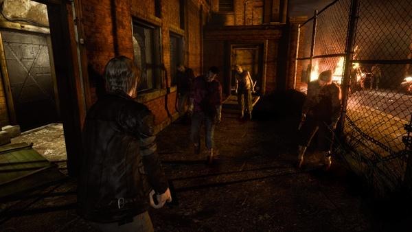 Screenshot zu Resident Evil 6 - Vergleichsbilder mit und ohne Dezember-Update
