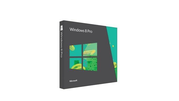 Bilder zu Windows 8 Pro - Die 5 verschiedenen Verpackungen
