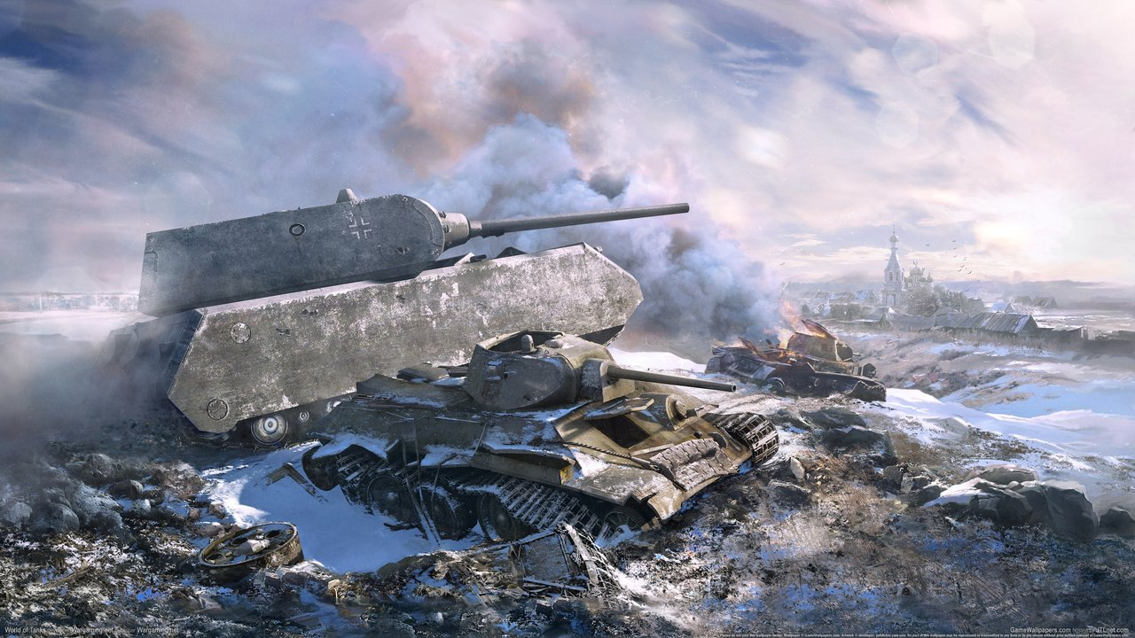 Wallpaper zu World of Tanks herunterladen