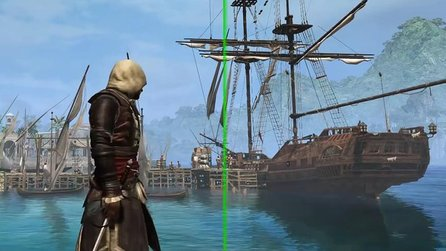 Assassin's Creed 4: Black Flag - Gameplay-Video: Bessere Optik in der PC-Version