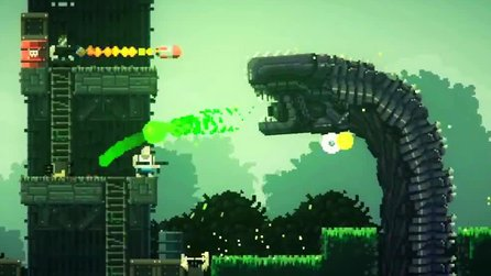 Broforce - Gameplay-Trailer zum Alien-Infestation-Update