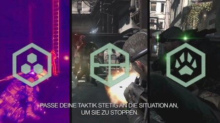 Splinter Cell: Blacklist - Panther, Ghost, Assault-Mode: Die drei Spielstile vorgestellt