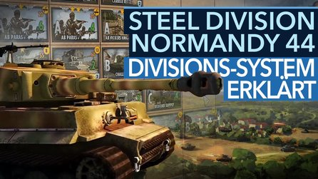 Steel Division: Normandy 44 - Analyse-Video: Deck-System & Divisionen erklärt