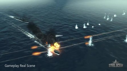 Steel Ocean - Steam-Trailer mit Gameplay-Szenen