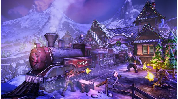 Borderlands 2 - Screenshots aus dem DLC »Headhunter 3: Mercenary Day«