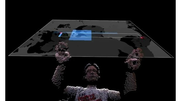 ofxKinect Hack Minority Report