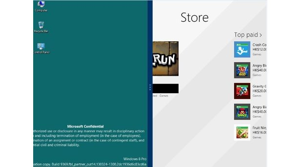 Windows 8.1 Screenshots Leak
