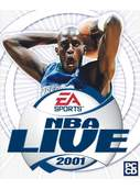 Cover zu NBA Live 2001
