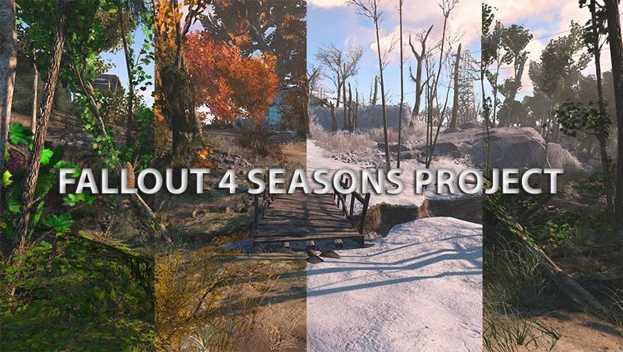 Per Mod kehren sogar die 4 Jahreszeiten in Fallout 4 zurück!