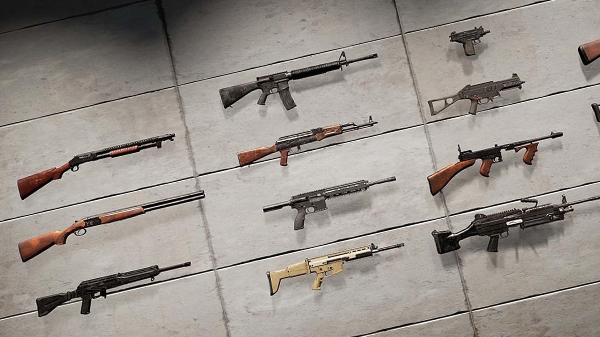 Pubg Waffen übersicht