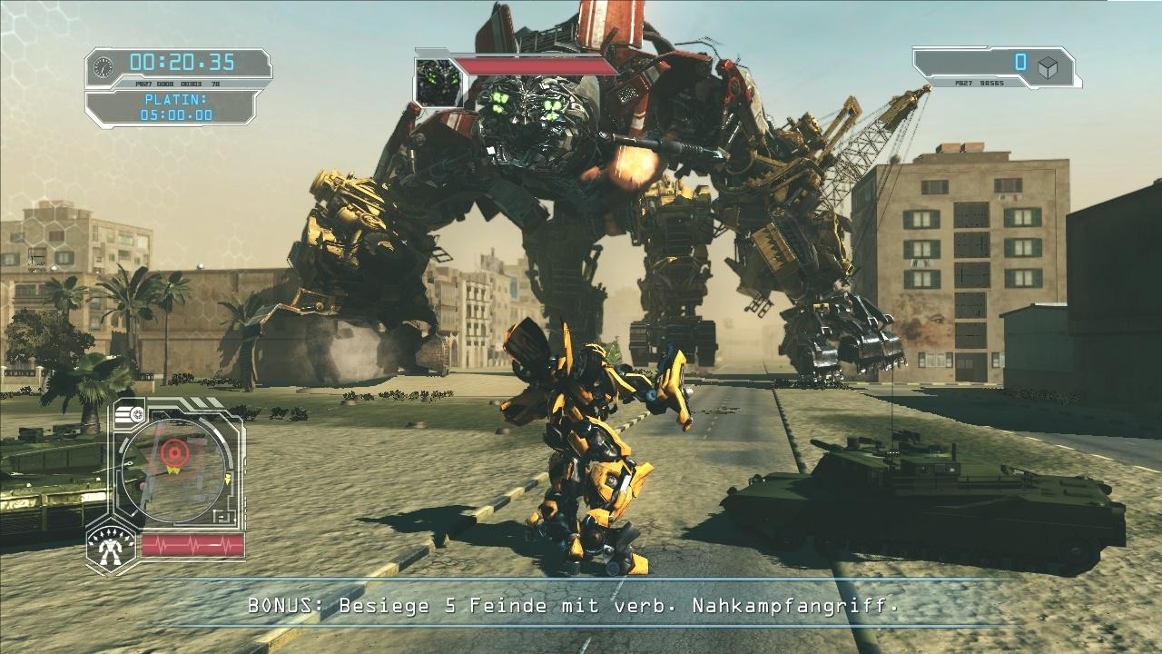 transformers 2 die rache im test seichte action f r filmfans gamestar. Black Bedroom Furniture Sets. Home Design Ideas