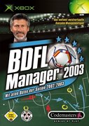 Cover zu BDFL Manager 2003 - Xbox