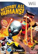 Cover zu Destroy All Humans! Big Willy: Entfesselt - Wii