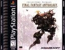 Cover zu Final Fantasy Anthology - PlayStation