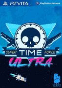 Cover zu Super Time Force Ultra - PS Vita