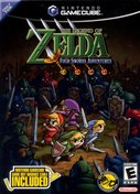 Cover zu The Legend of Zelda: Four Swords Adventures - GameCube