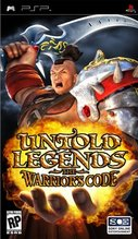 Cover zu Untold Legends: The Warrior's Code - PSP