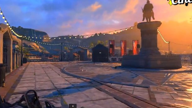 Black Ops 4 can take a rainy version of Seaside soon. Source: NerosCinema