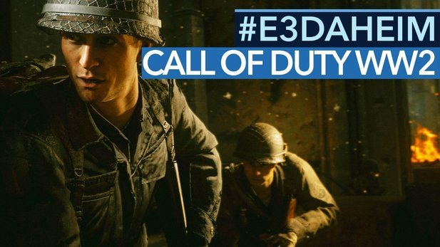 Call of Duty: WW2 - Preview-Video: So gut wird der Multiplayer