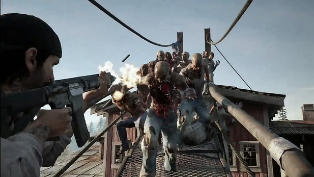 Days Gone - Mitschnitt der E3-Demo: Horden wie bei World War Z