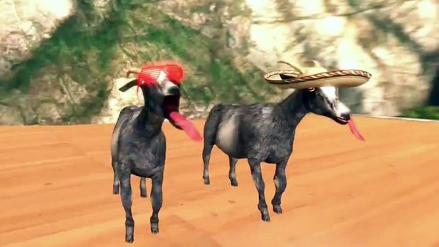 Gameplay-Trailer von Goat Simulator