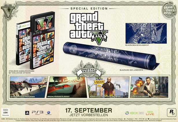 Grand Theft Auto 5 Special Edition