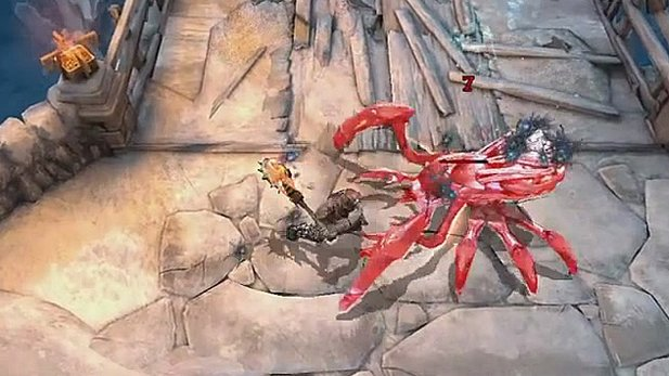 Infinity Blade: Dungeons - Gameplay-Trailer