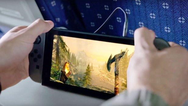 The Elder Scrolls V: Skyrim auf der Nintendo Switch.