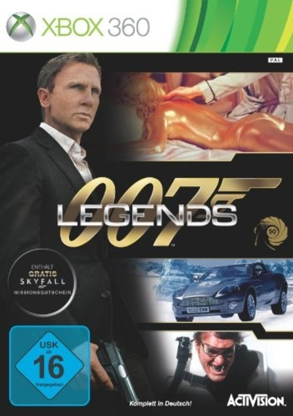 Cover zu 007 Legends
