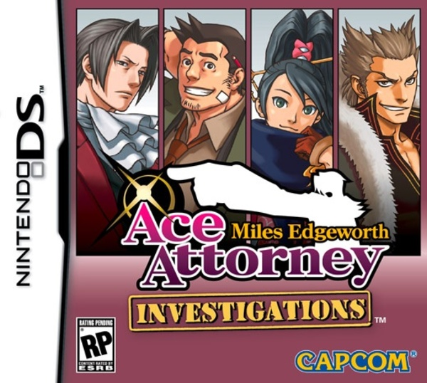 Cover zu Ace Attorney Investigations: Miles Edgeworth