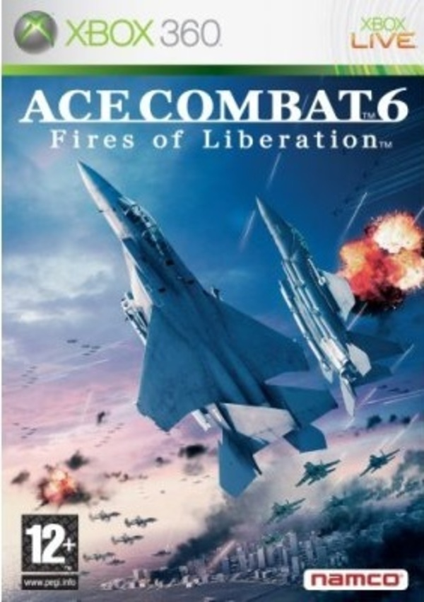 Cover zu Ace Combat 6: Fires of Liberation