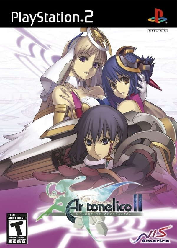 Cover zu Ar tonelico 2: Melody of Metafalica