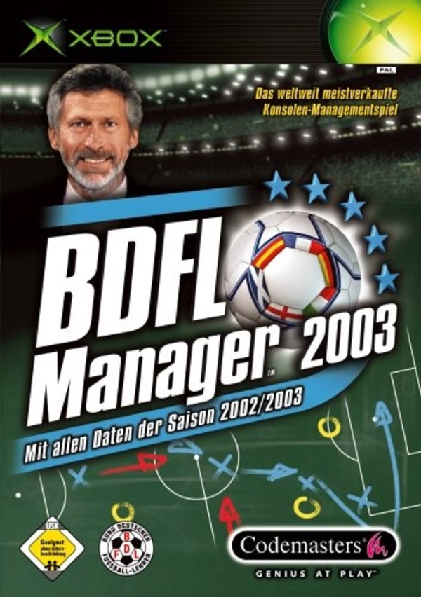 Cover zu BDFL Manager 2003