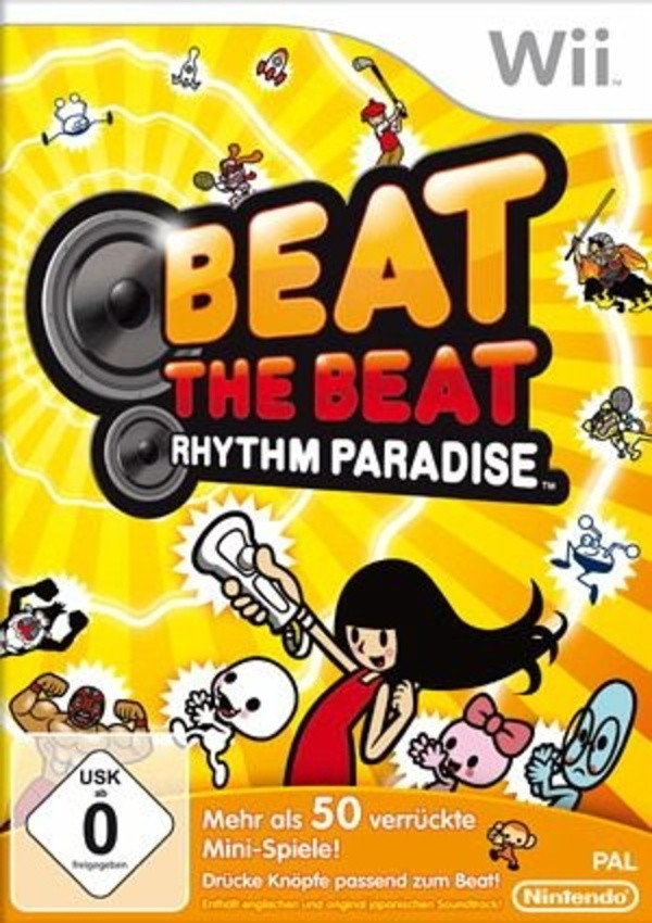 Cover zu Beat the Beat: Rhythm Paradise