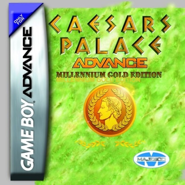 Cover zu Caesar's Palace Advance: Millenium Gold Edition