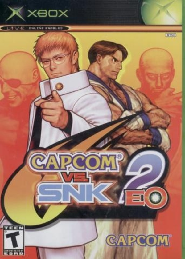 Cover zu Capcom vs. SNK 2 EO