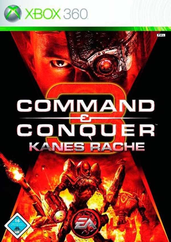 Cover zu Command & Conquer 3: Kanes Rache