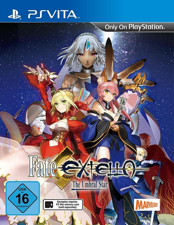 Cover zu Fate/Extella: The Umbral Star