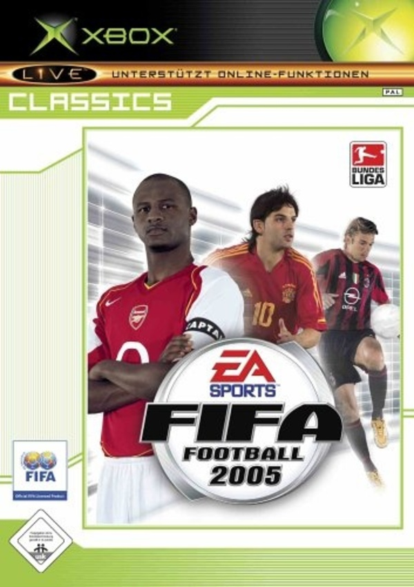 Cover zu FIFA Football 2005