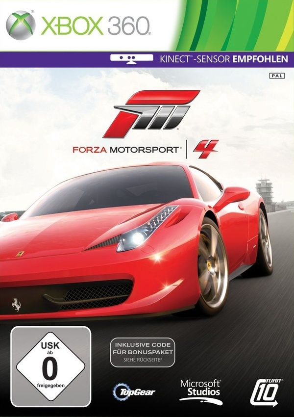 Cover zu Forza Motorsport 4