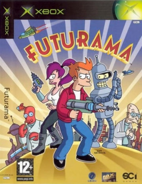 Cover zu Futurama