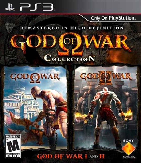 Cover zu God of War Collection