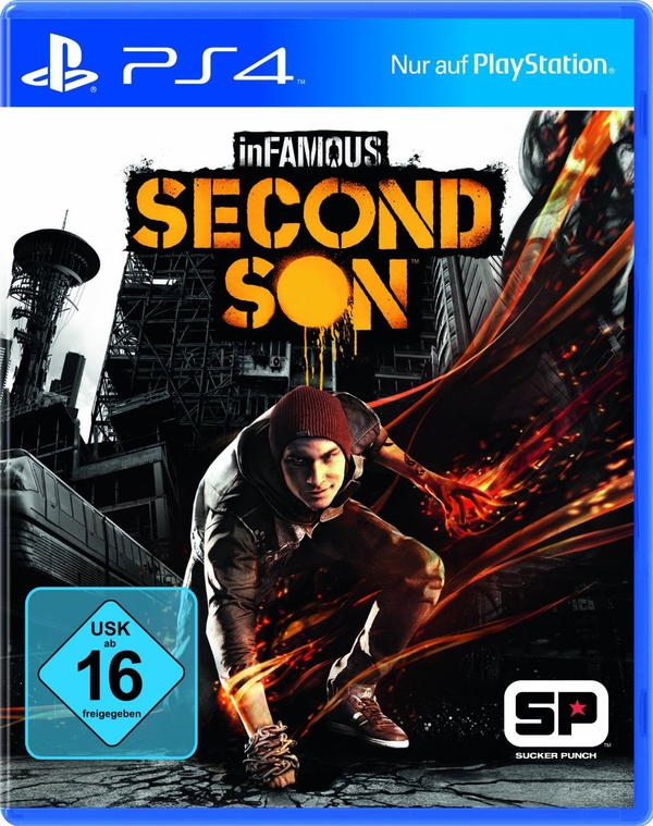 Cover zu inFamous: Second Son