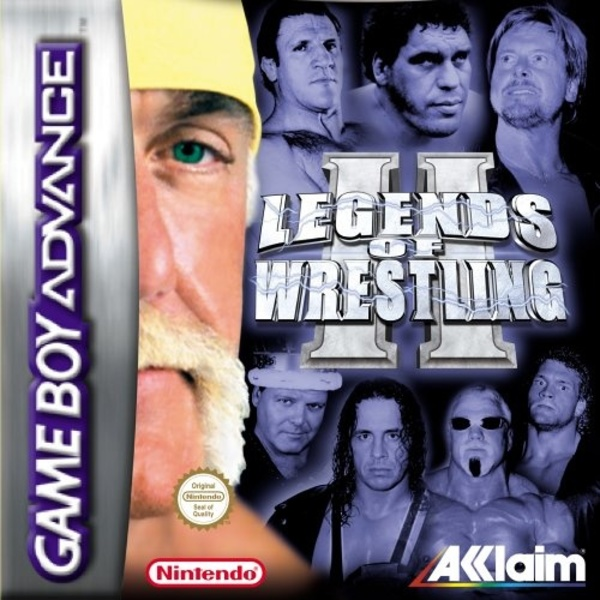 Cover zu Legends of Wrestling 2