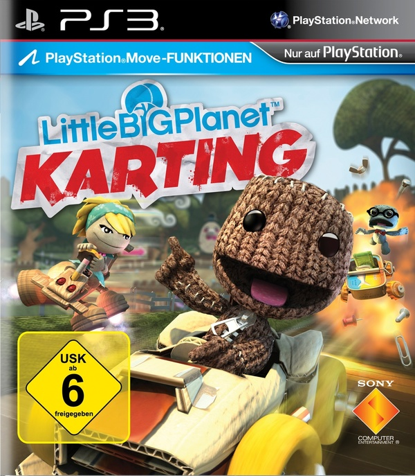 Cover zu LittleBigPlanet Karting