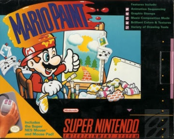 Cover zu Mario Paint