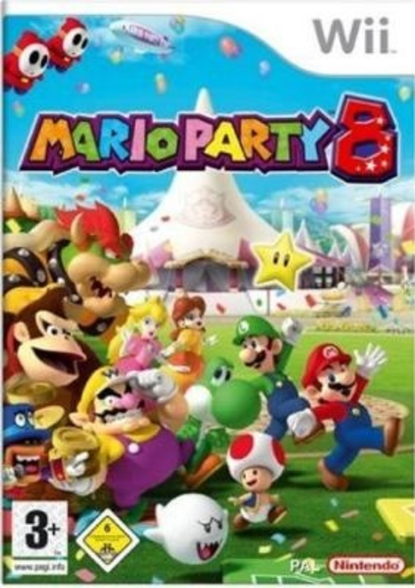 Cover zu Mario Party 8