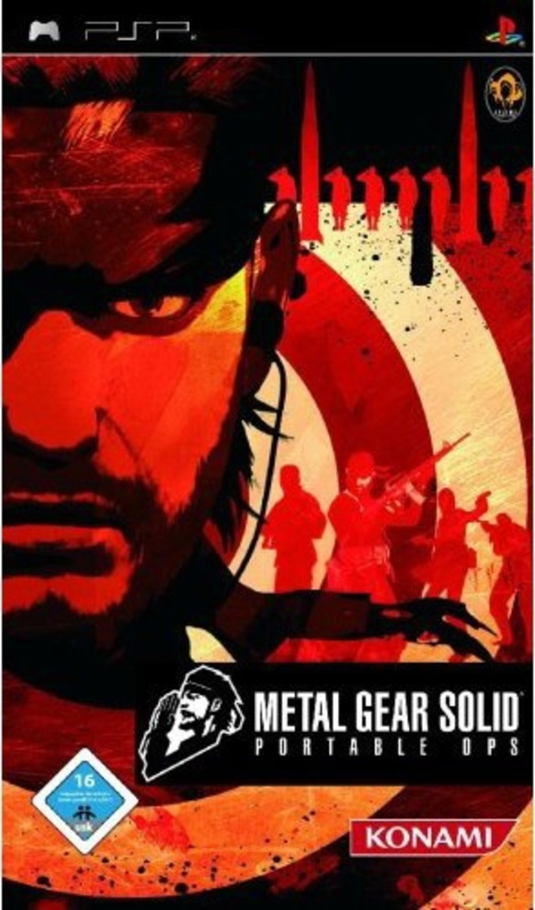 Cover zu Metal Gear Solid: Portable Ops