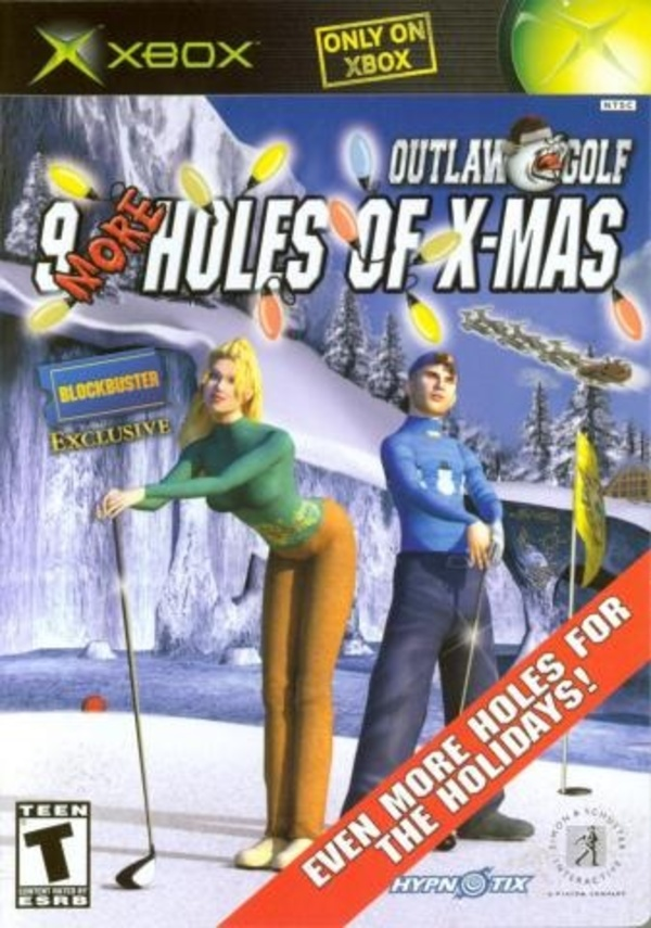 Cover zu Outlaw Golf: 9 More Holes of X-Mas